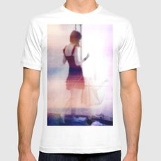 Spirit Mens Fitted Tee White SMALL