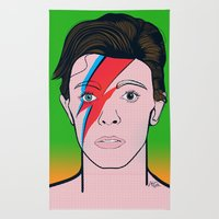 David Bowie Rug
