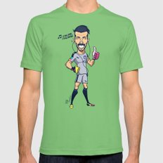 Buffon Mens Fitted Tee Grass SMALL