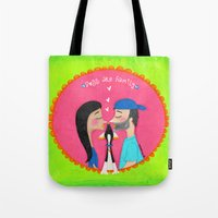 Dogs Are Family ❤️ Tote Bag