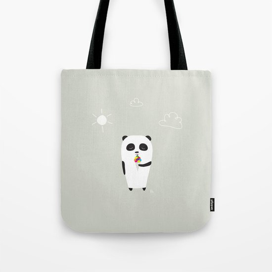 The Happy Ice Cream Tote Bag