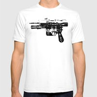 Blaster II Mens Fitted Tee White SMALL