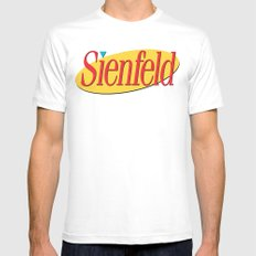 Sienfeld SMALL White Mens Fitted Tee