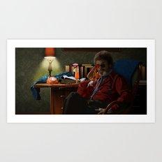 Dr Jacoby Art Print