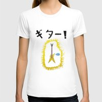 guitar T-shirts featuring GUITAR! by StuartWallaceArt