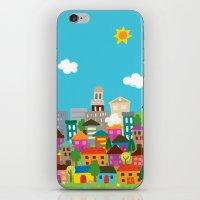 happytown iPhone & iPod Skin