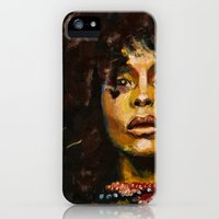 iPhone Cases featuring Erykah Badu by Monifa Charles