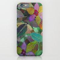 Floral Pattern 7 iPhone 6 Slim Case