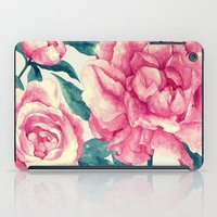 Peonies (soft tone) iPad Case
