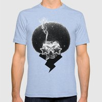 Mr. Stardust Mens Fitted Tee Tri-Blue SMALL