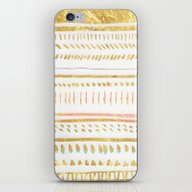 GOLD TRIBE iPhone & iPod Skin