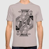 Creativity Is King Mens Fitted Tee Cinder SMALL