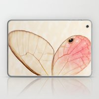 Pink Glasswing 1 Laptop & iPad Skin
