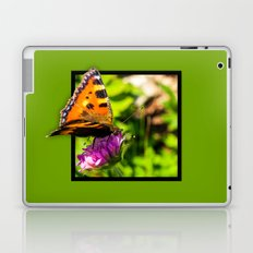 Butterly on the flower 3D pop out of frame effect Laptop & iPad Skin