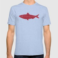 Swedish Fish Mens Fitted Tee Athletic Blue SMALL