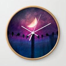 Symphony (colour option) Wall Clock