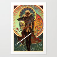 The Antivan Crow Art Print