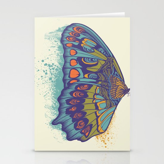 Butterfly Life Cycle Stationery Card