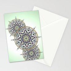 Heart Moon Star Mandala Stationery Cards