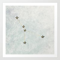 Cancer X Astrology X Zod… Art Print