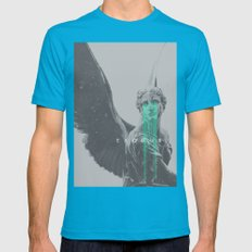 Exodus Mens Fitted Tee Teal SMALL