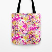 Local Color Yellow Pink Tote Bag