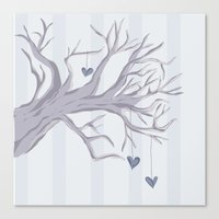 Cold Cold Heart Canvas Print