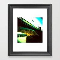 Thames 02 Framed Art Print