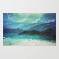 Tropical Island Multiple Exposure Rug