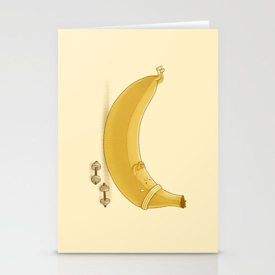 Crunches Stationery Card