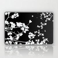 Black Dogwood Laptop & iPad Skin