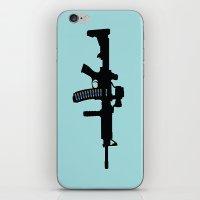 Art not War - Blue iPhone & iPod Skin