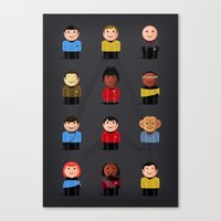 Star T - Little Ppl Canvas Print