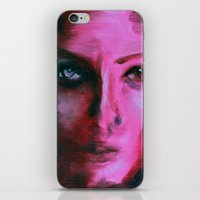 THE PINK QUICK PORTRAIT iPhone & iPod Skin