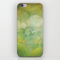 flight iPhone & iPod Skin