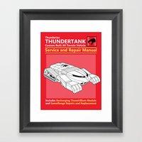 Thundertank Service And … Framed Art Print