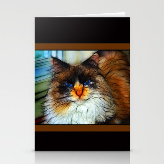 Cat Stationery Card
