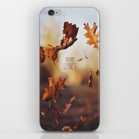 Autumn Leaves As Quickly… iPhone & iPod Skin