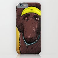 iPhone & iPod Case featuring Hobbes (poodle) by BinaryGod.com