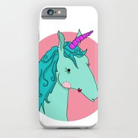 iPhone & iPod Case featuring Unicorn by Brittany Metz