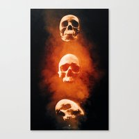 Mortified Canvas Print