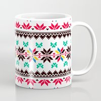 Traditional Embroidery Mug