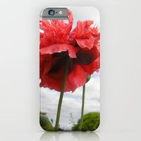 Red Poppies iPhone 6 Slim Case