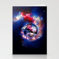 Galactic Jump Stationery Cards
