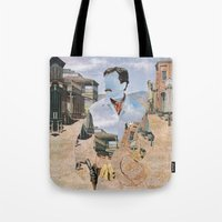 The Unknown Rider in The Man From Warrenville Tote Bag