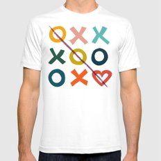 Xoxo Love Mens Fitted Tee White SMALL