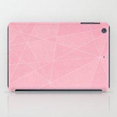 Geometric Pink iPad Case
