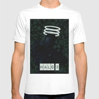 Halo 3 Mens Fitted Tee White SMALL