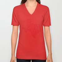 The Lone Star State - Te… Unisex V-Neck