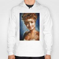 Who Pixelated Laura Palmer :; Twin Peaks Hoody